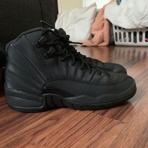 Jordan 12s all black